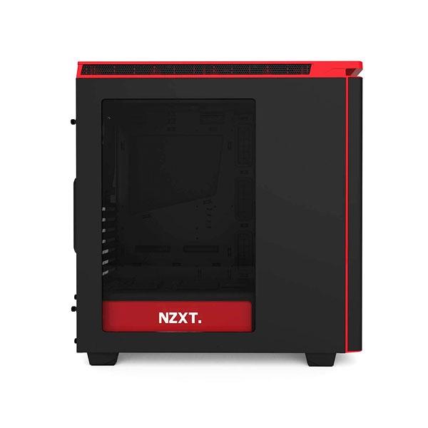 NZXT H440 negrorojo  Caja  Reacondicionado