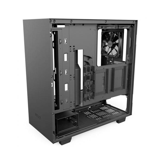 NZXT H500 con ventana negra  Caja