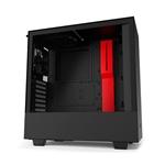 NZXT H510 ATX Negra Roja  Caja
