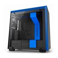 NZXT H700 con ventana negra / azul - Caja