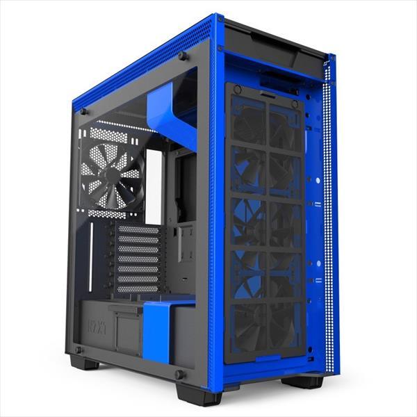 NZXT H700i con ventana negra / azul – Caja