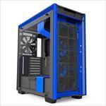 NZXT H700i con ventana negra / azul - Caja
