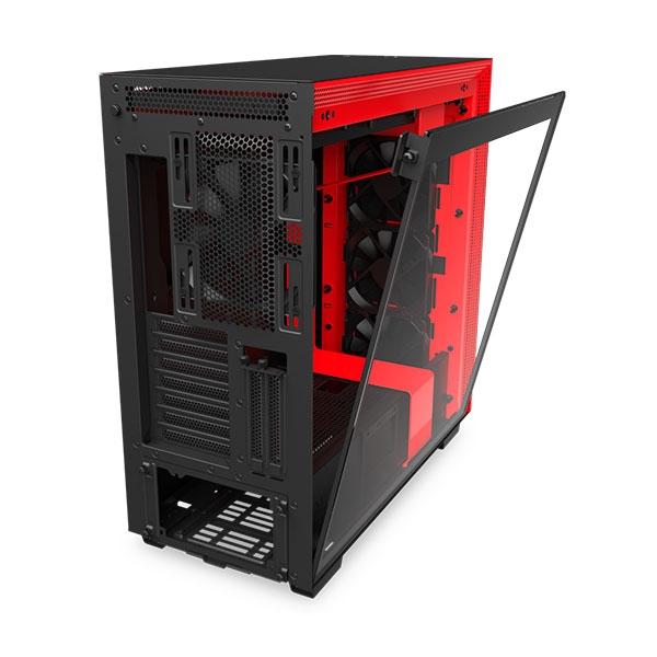 NZXT H710 EATX Negra Roja  Caja