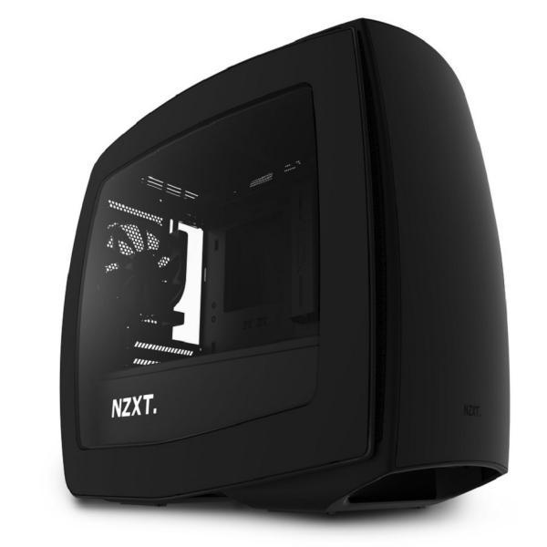 NZXT Manta negra con ventana  Caja