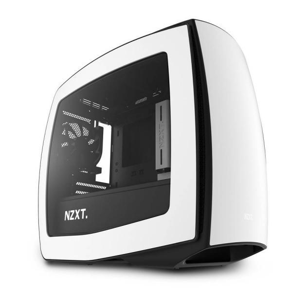 NZXT Manta negro/blanco con ventana – Caja