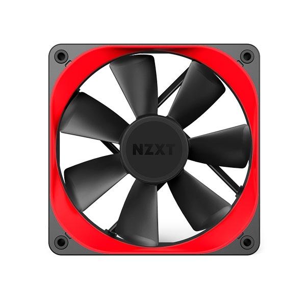 NZXT trim rojo dual pack 140 - accesorio de ventilador