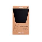 SilverHT Bookcase Wave Funda Negra para Samsung Galaxy Tab A 105 Funda