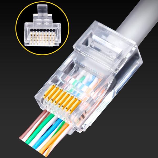 OEM EZ RJ45 Cat 6 8p8c UTP  Conector