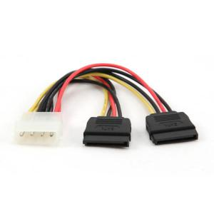 Cable molex a 2 SATA  Cable de alimentación