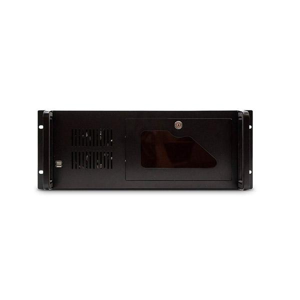 Tooq 19″ 4 u 406  negra sin fuente – Caja rack