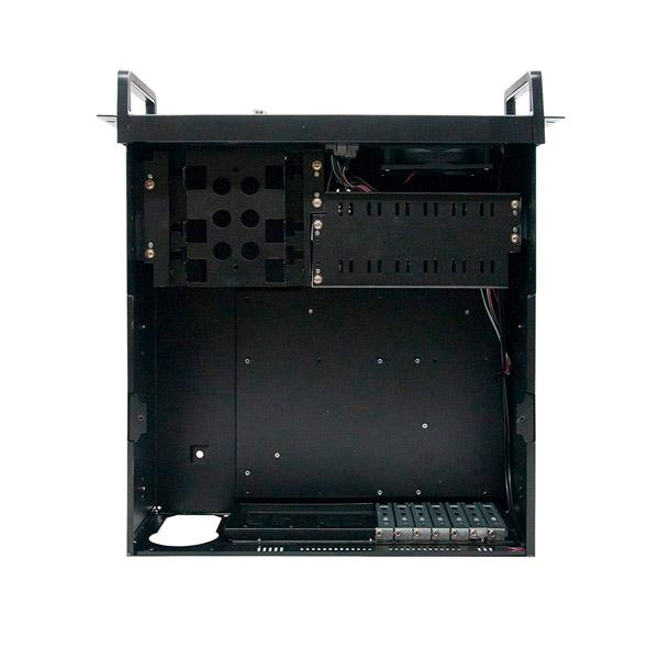"Tooq 19"" 4 u 406 negra sin fuente - Caja rack"