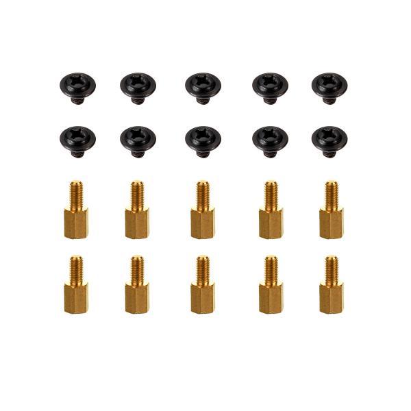 Set de 10 separadores placa base + tornillos – Herramientas