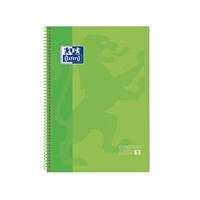 Cuaderno Oxford Espiral A4+ Tapa Extradura 80h 90gr Verde