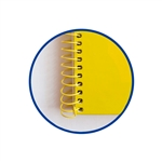 Cuaderno Oxford Espiral A4 Tapa Extradura 80h 90gr Amarillo