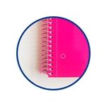 Cuaderno Oxford Espiral A4 Tapa Extradura 80h 90gr Rosa
