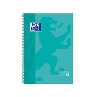 Cuaderno Oxford Espiral A4+ Tapa Extradura 80h 90gr Menta