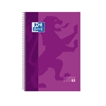 Cuaderno Oxford Touch EuropeanBook 1 A4+ 80h 90gr Morado