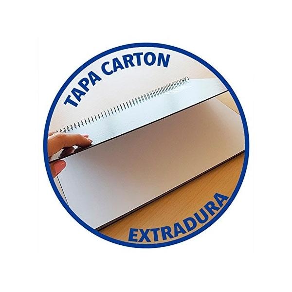 Cuaderno Oxford Touch EuropeanBook 1 A4+ 80h 90gr Morado