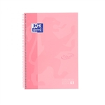 Cuaderno Oxford Touch EuropeanBook 1 A4 80h 90gr Flamingo