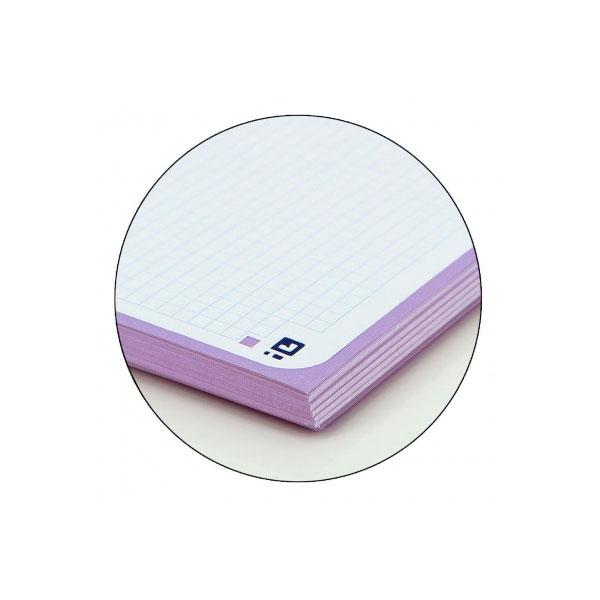 Cuaderno Oxford Touch EuropeanBook 1 A4+ 80h 90gr Malva