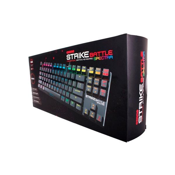 Ozone Strike Battle Spectra RGB MX RED - Teclado