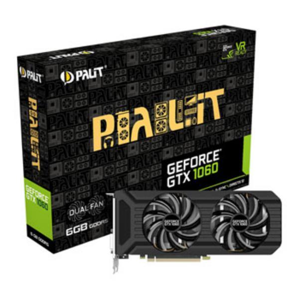 Palit Nvidia GeForce GTX1060 Dual 6GB – Gráfica