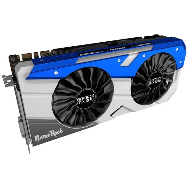 Palit Nvidia GeForce GTX1070 GameRock 8GB  Gráfica
