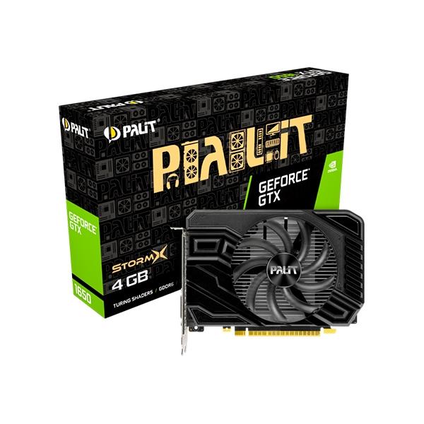 Palit GeForce GTX1650 StormX D6 4GB GD6  Gráfica