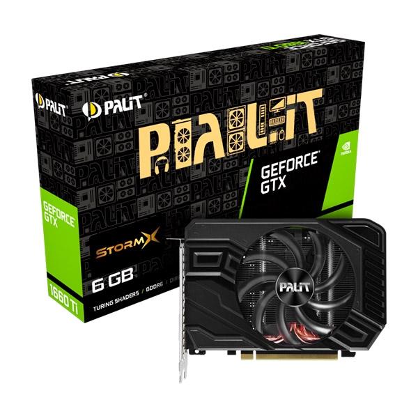 Palit Nvidia GeForce GTX 1660 Ti StormX 6GB GDDR6 - Gráfica