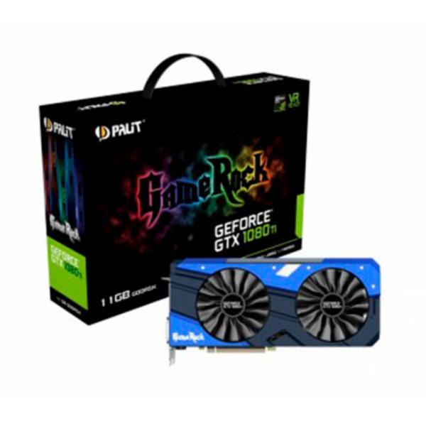Palit Nvidia GeForce GTX1080 TI 11GB GameRock  Grfica
