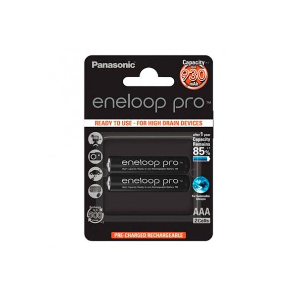 Panasonic Eneloop Pro Micro AAA 930mAh x2  Pilas