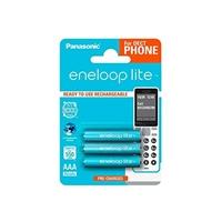 Panasonic Eneloop Lite DECT AAA 550mAh x3 - Pilas