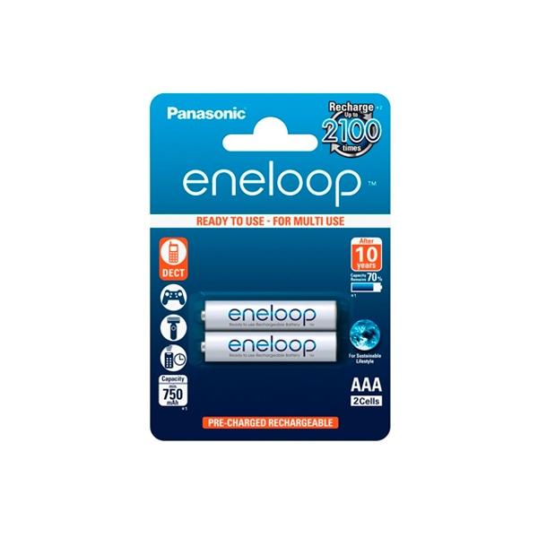 Panasonic Eneloop AAA 750mAh x2 - Pilas