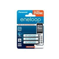 Panasonic Eneloop AAA 750mAh DECT x3 - Pilas