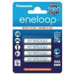 Panasonic Eneloop AAA 750mAh x4 - Pilas