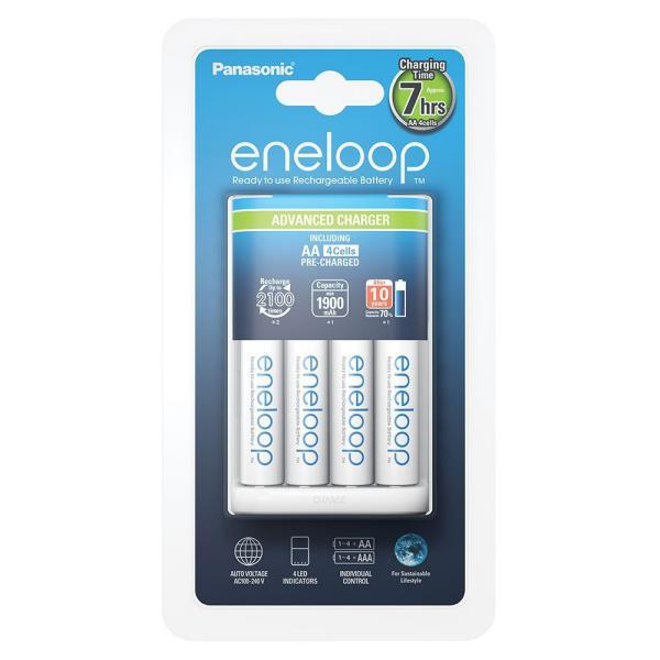 Panasonic Eneloop Advanced BQ CC17  12154 AA  Cargador
