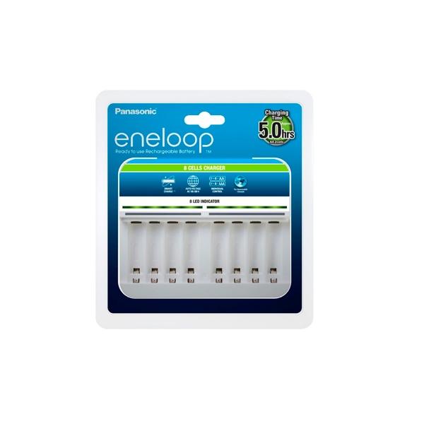 Panasonic Eneloop Cargador 8 celdas (sin pilas)
