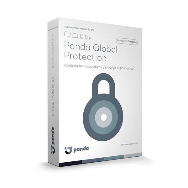 Panda Global Protection 2017 Licencias ili 1 Año  Antivirus
