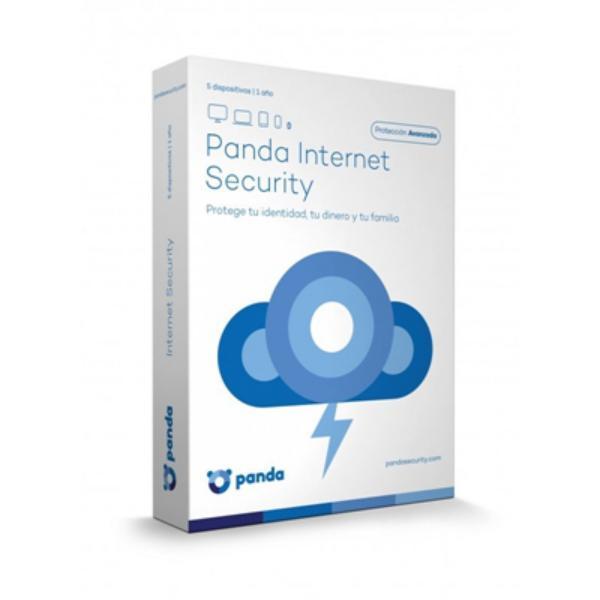 Panda Internet Security 2017 5 Licencias 1 año  Antivirus