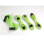 Phanteks KIT cableado 50cm verde  Cables