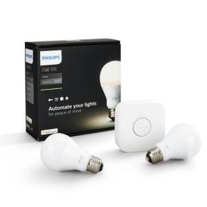 Philips Hue KIT 2x E27 A60 95W 2700K  Puente  Iluminacion