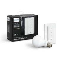 Philips Hue KIT 1x E27 A60 9.5W 2700K + Int - Iluminacion