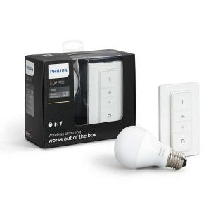 Philips Hue KIT 1x E27 A60 95W 2700K  Int  Iluminacion