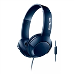 Philips BASS Azul Diadema Micro  Auriculares