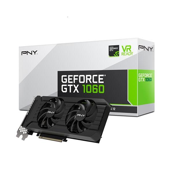 PNY Nvidia GeForce GTX 1060 6GB Twin Fan – Gráfica