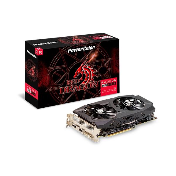 PowerColor Red Dragon Radeon RX580 8GB GDDR5  Tarjeta Gráfica AMD
