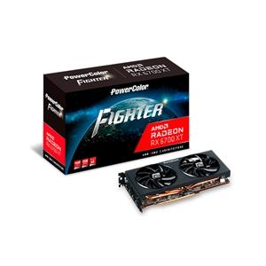 PowerColor Fighter Radeon RX6700 XT 12GB GDDR6  Tarjeta Gráfica AMD
