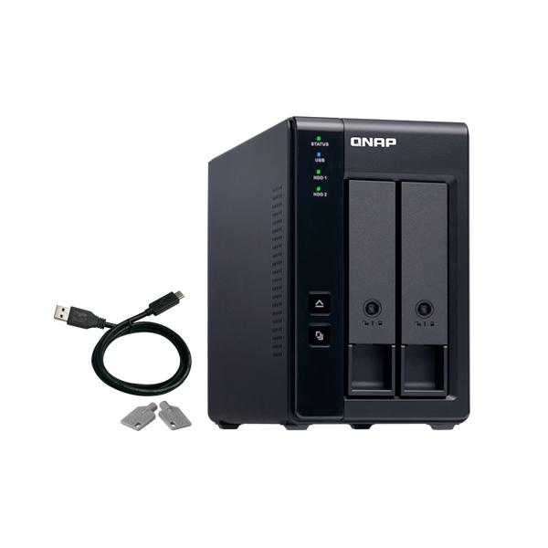 QNAP TR-002 Expansión de 2 bahías USB 3.2 - NAS