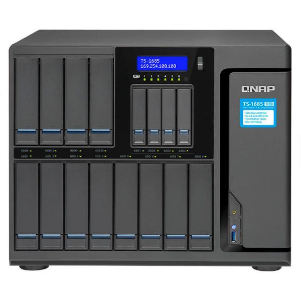 QNAP TS1685 Xeon D1521 16GB  Servidor NAS