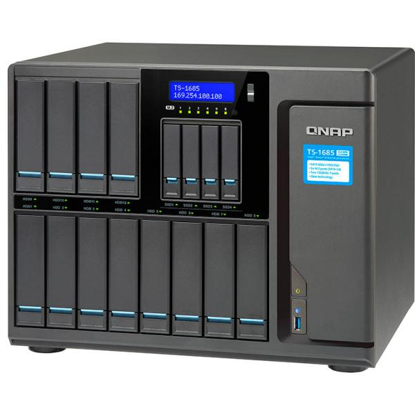 QNAP TS-1685 Xeon D-1531 128GB – Servidor NAS